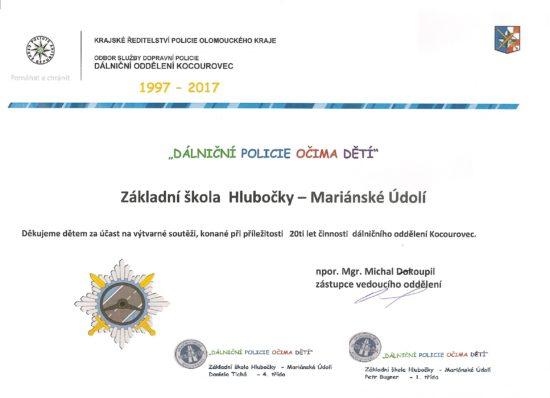 Diplom+dálniční policie0000